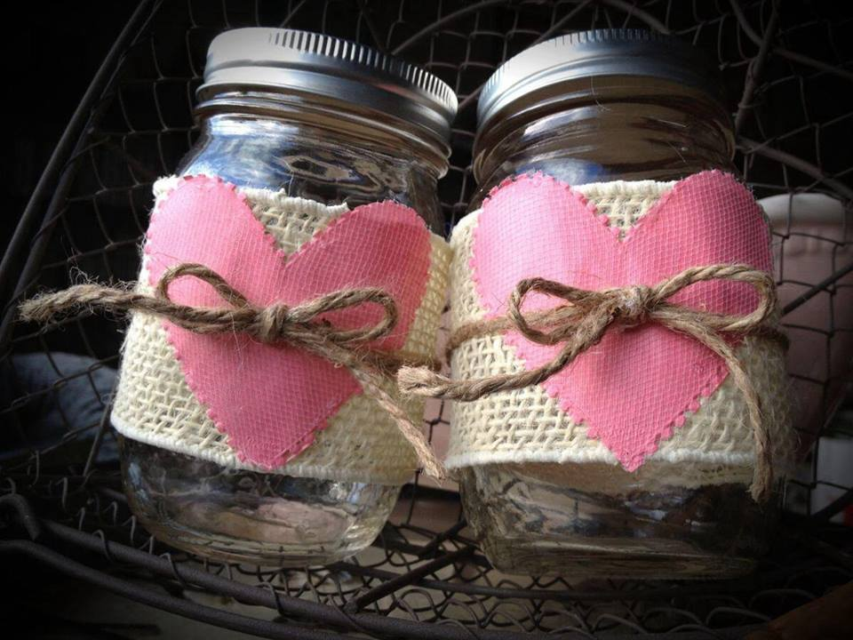 Idea regalo per san valentino con i barattoli vios - Decorare lanterne ...