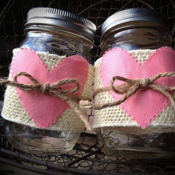 Idea regalo per San Valentino con i barattoli