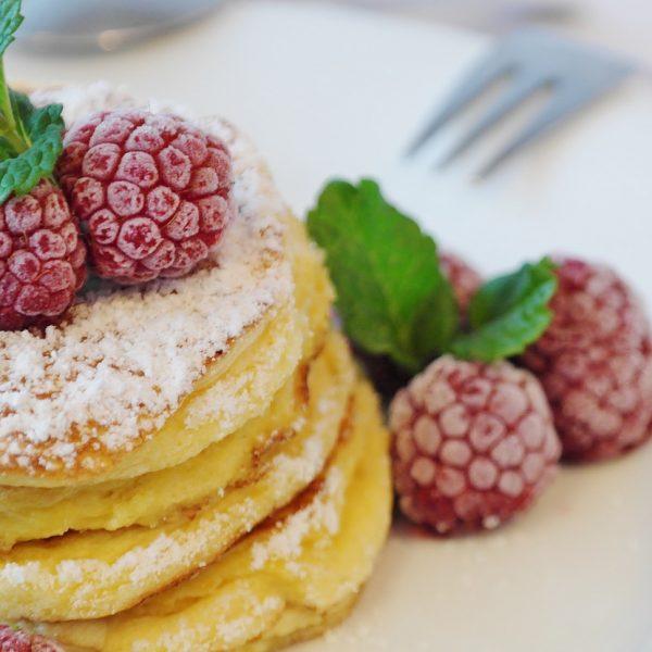 Pancake a base di kefir