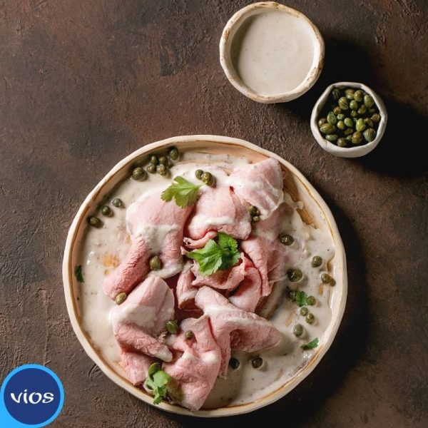 Salsa tonnata con yogurt greco Vios